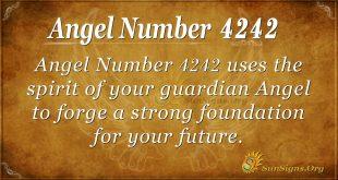 angel number 4242