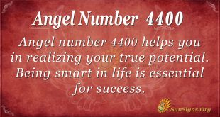 angel number 4400