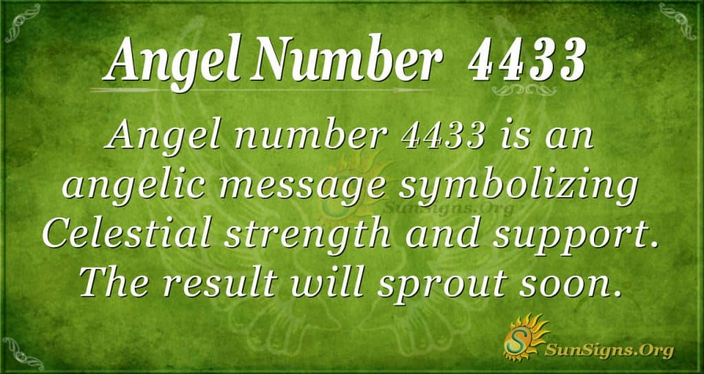 angel number 4433