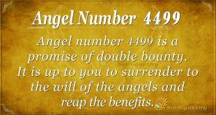 angel number 4499