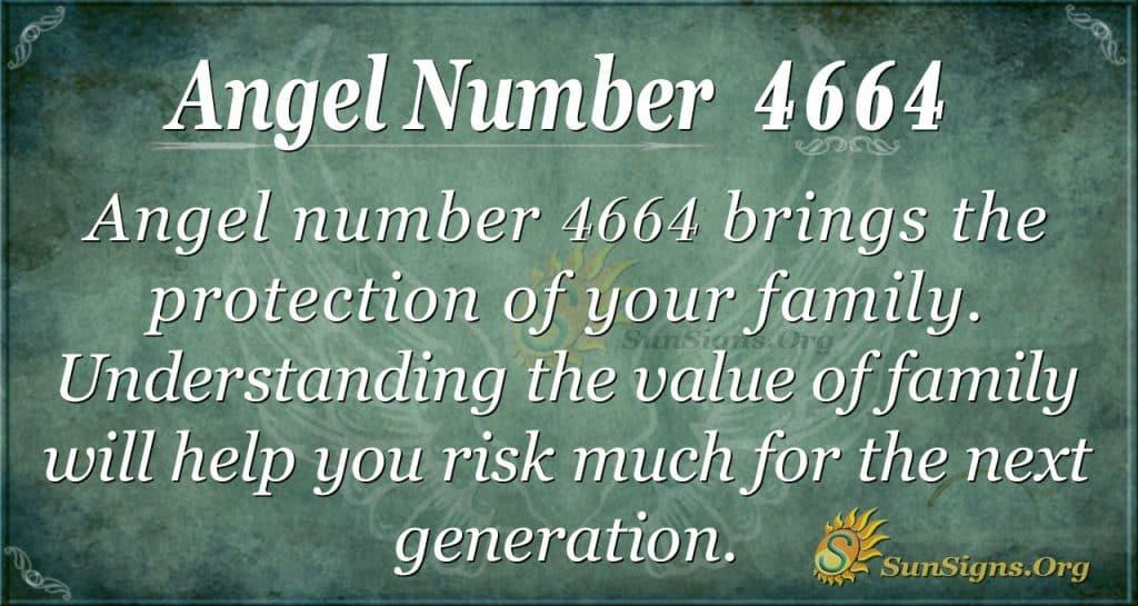 angel number 4664