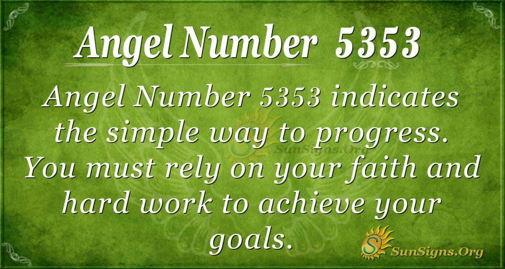 angel number 5353