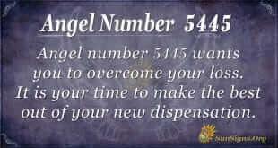 angel number 5445