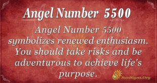 angel number 5500