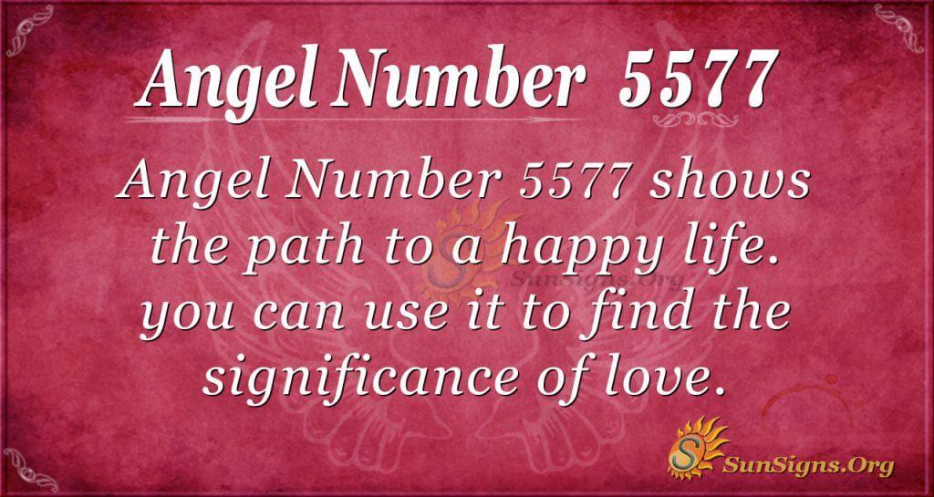 angel number 5577
