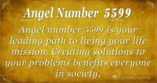 angel number 5599