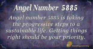 angel number 5885