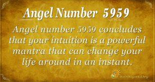 angel number 5959