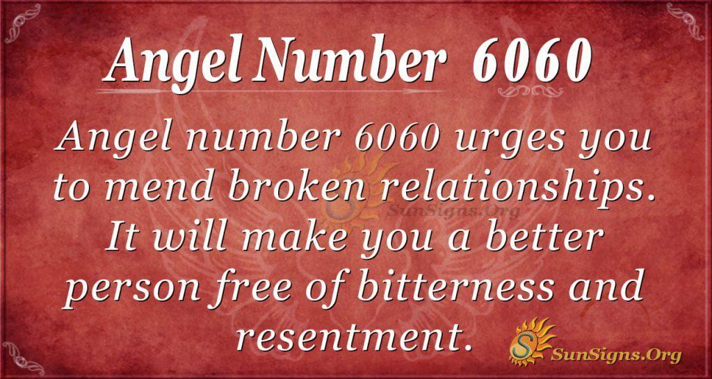 angel number 6060