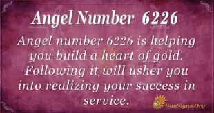 angel number 6226