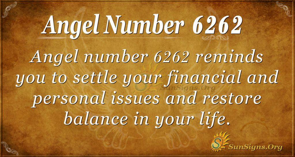 angel number 6262