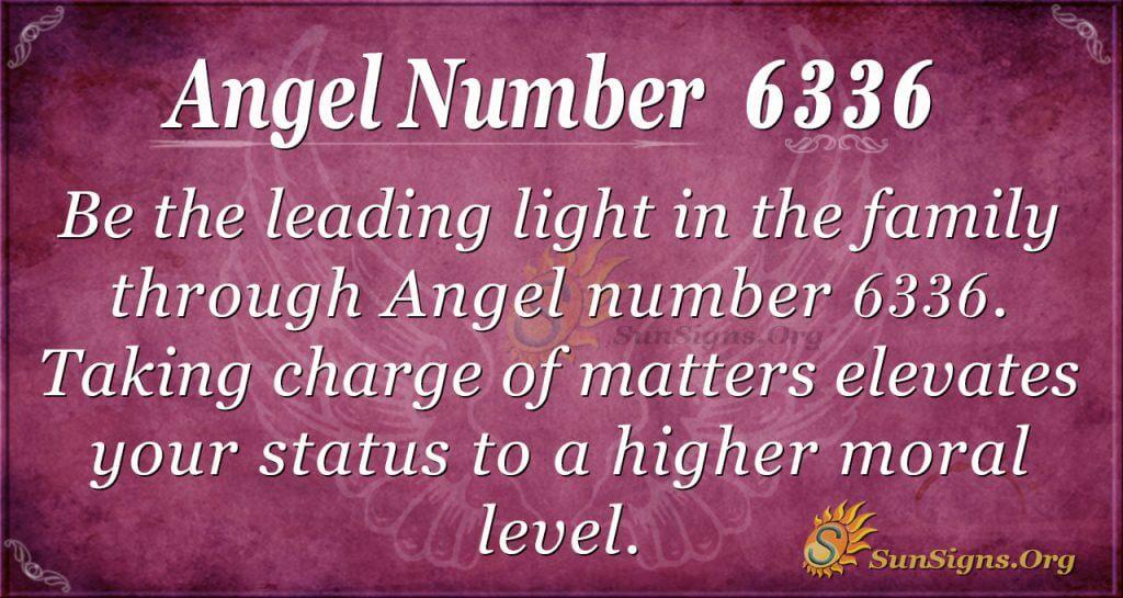 angel number 6336