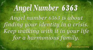 angel number 6363