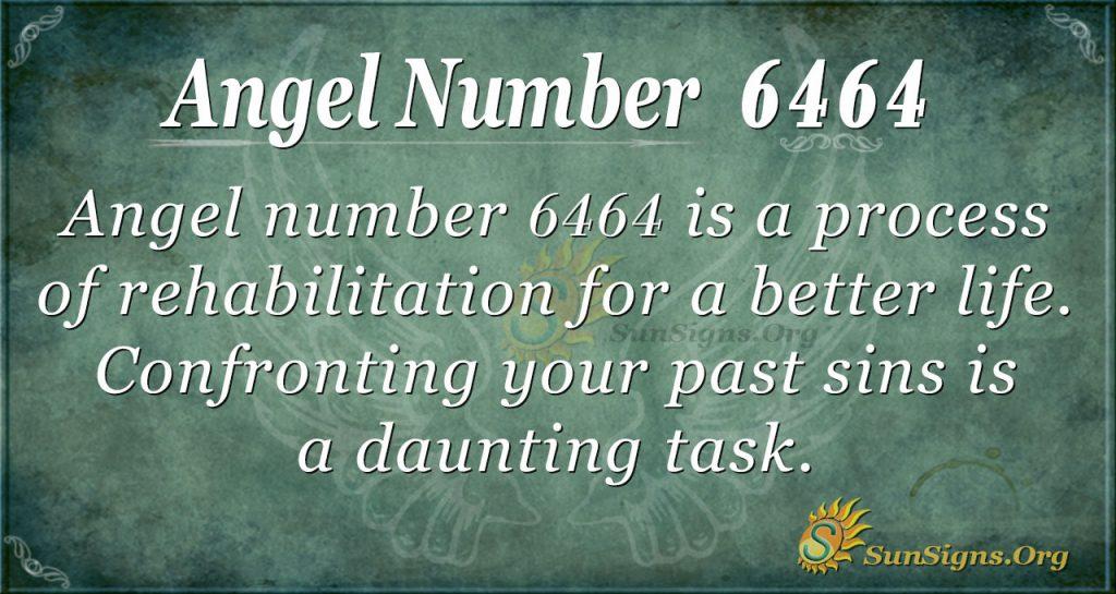 angel number 6464