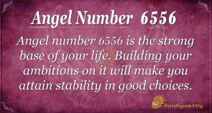 angel number 6556