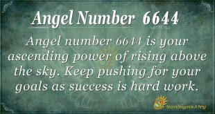 angel number 6644