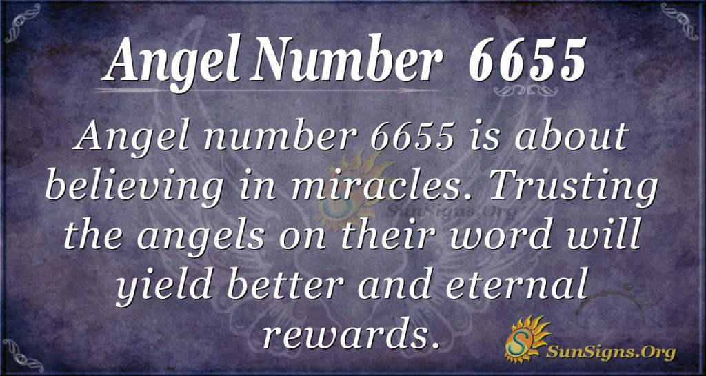 angel number 6655