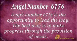 angel number 6776