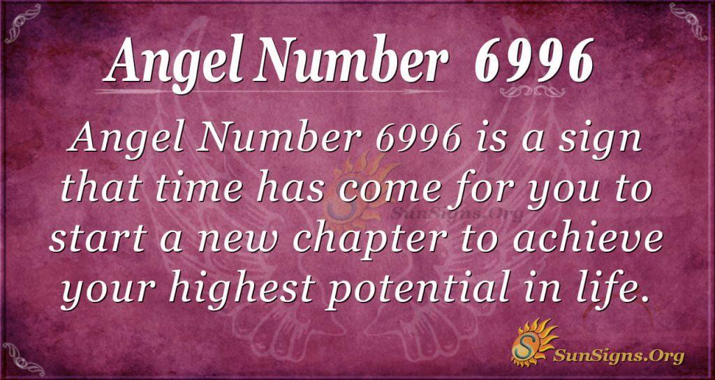 angel number 6996