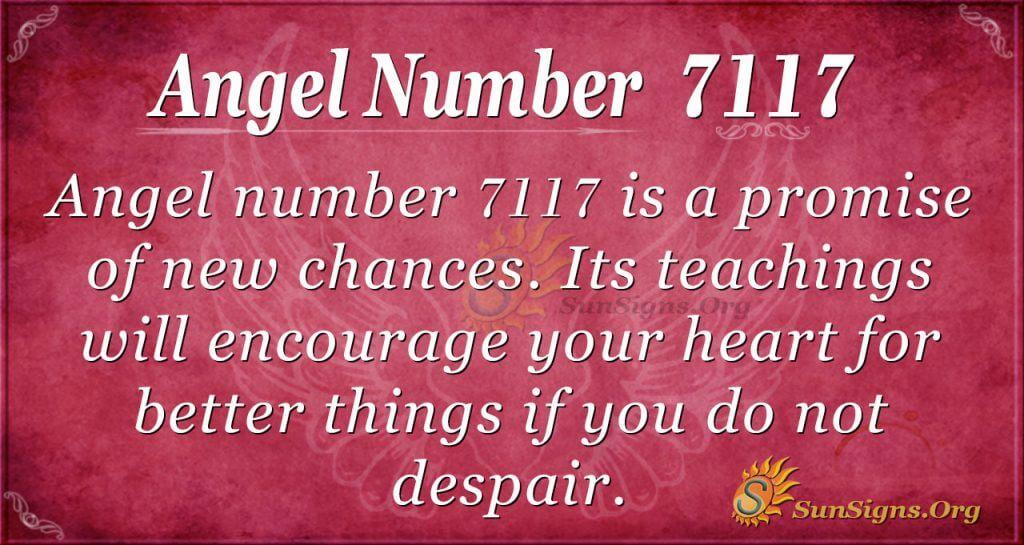 angel number 7117