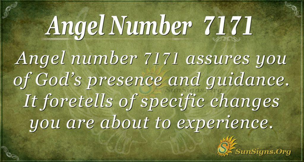 angel number 7171