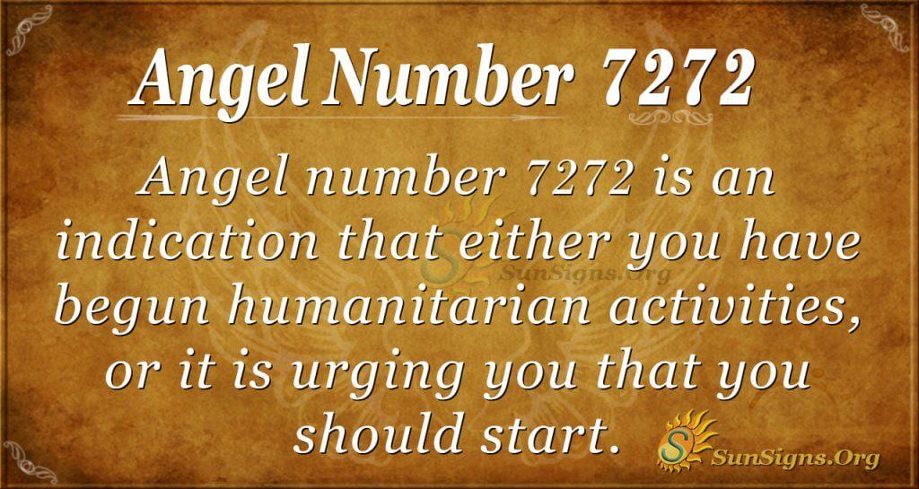 angel number 7272