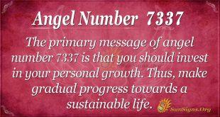 angel number 7337