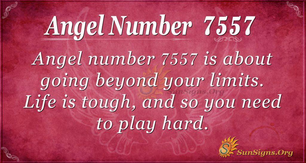 angel number 7557