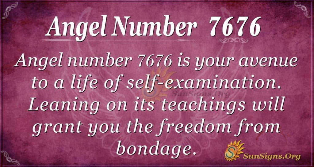 angel number 7676