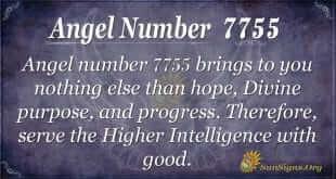 angel number 7755