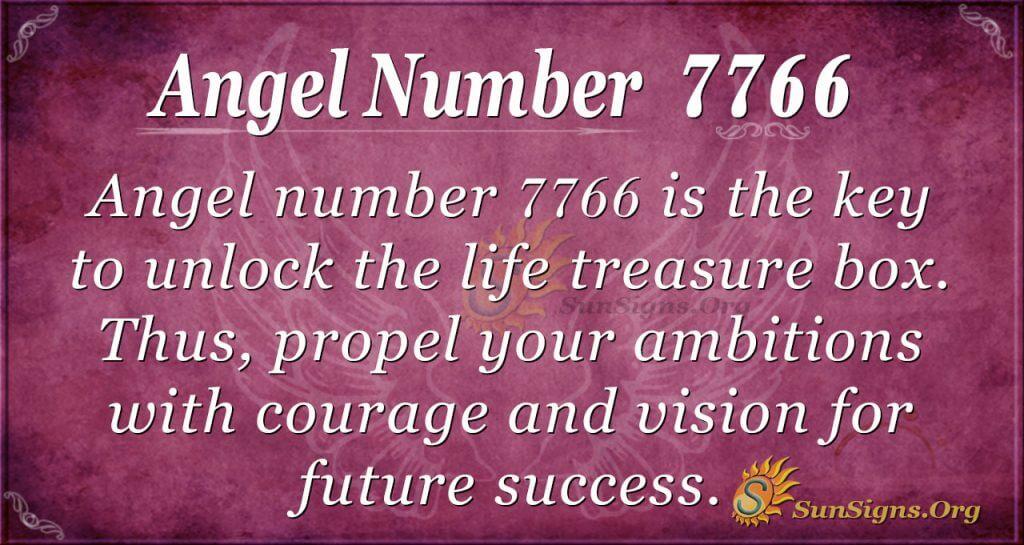 angel number 7766