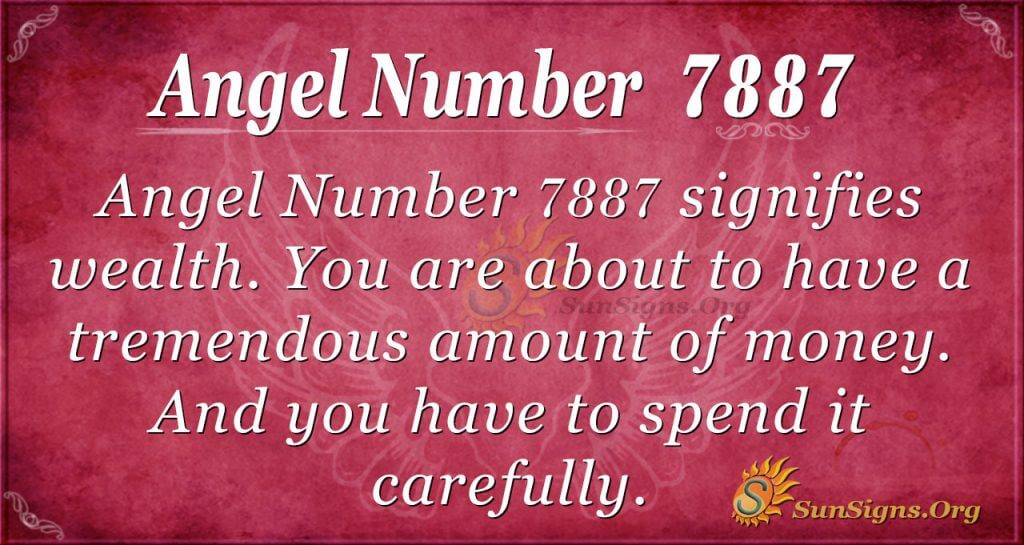 angel number 7887