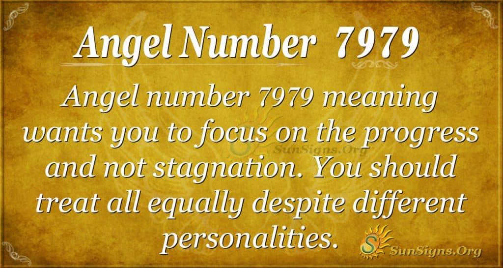 angel number 7979