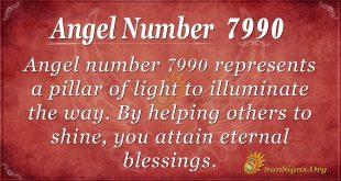 angel number 7990