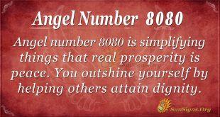 angel number 8080