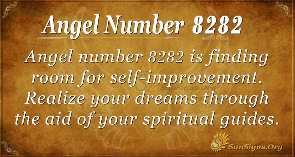 Angel Number 8282