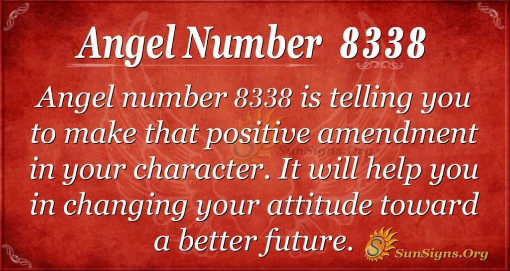 angel number 8338