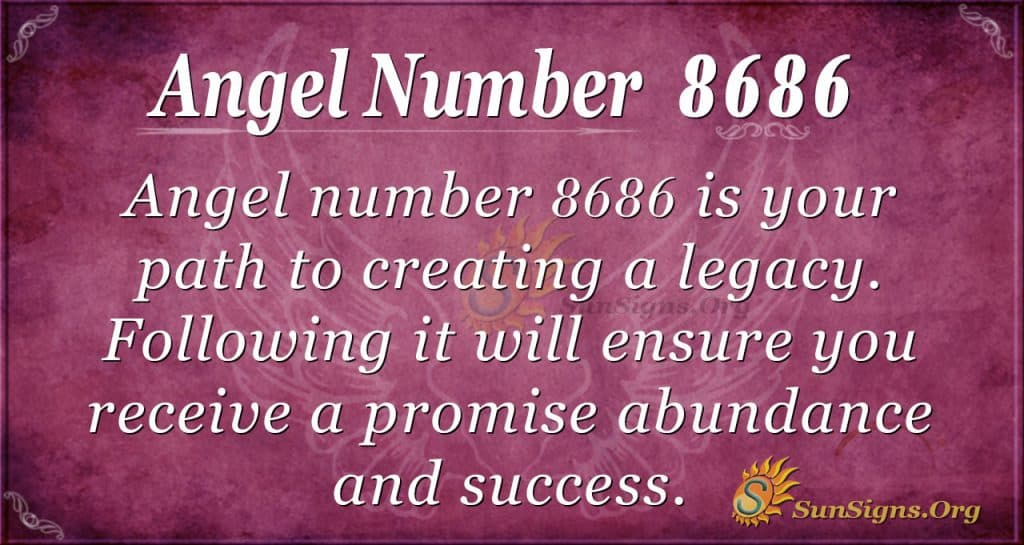 angel number 8686