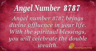 angel number 8787