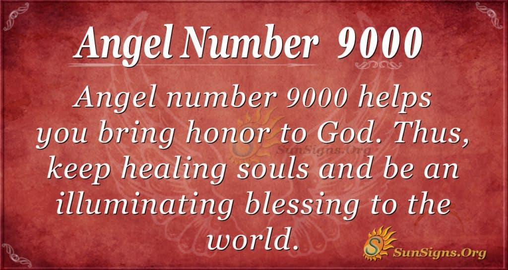 angel number 9000