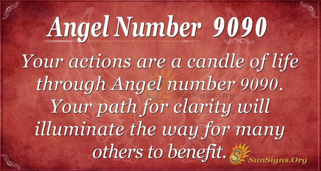 angel number 9090