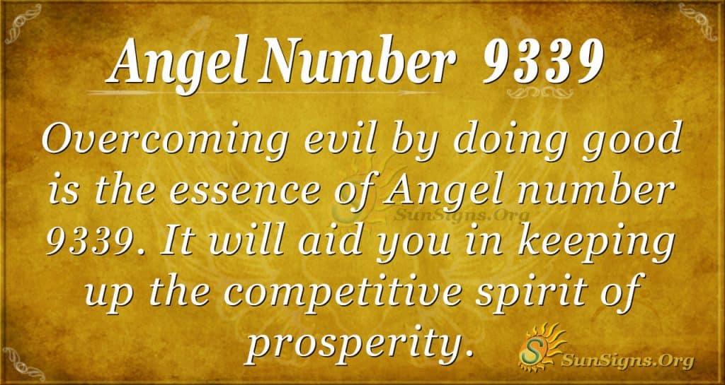 angel number 9339
