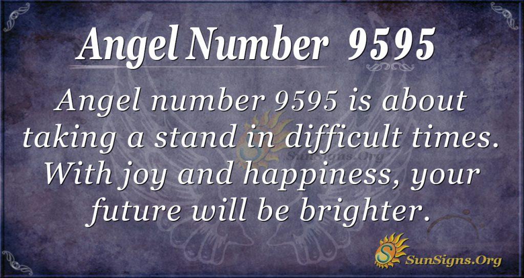 angel number 9595