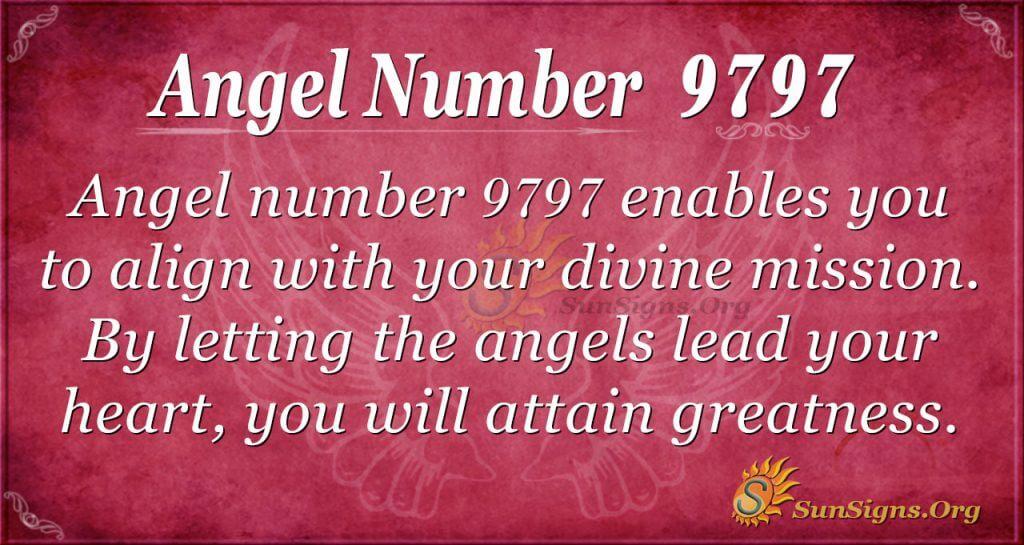 angel number 9797