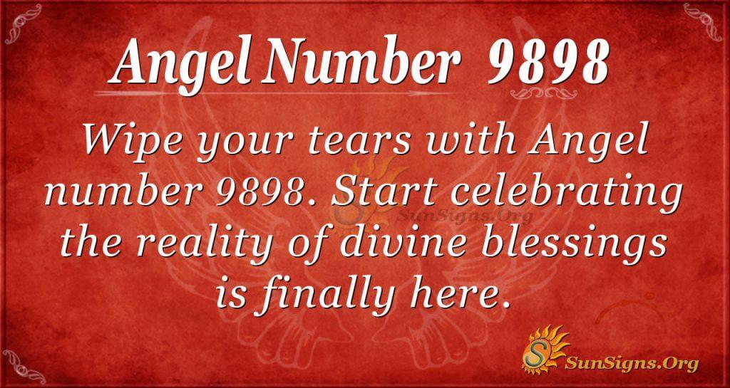 angel number 9898