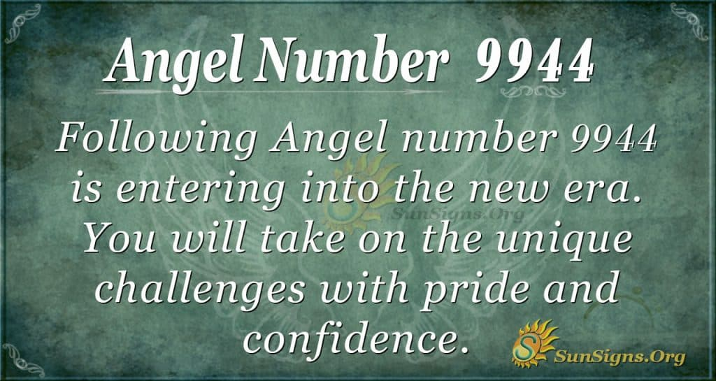 angel number 9944