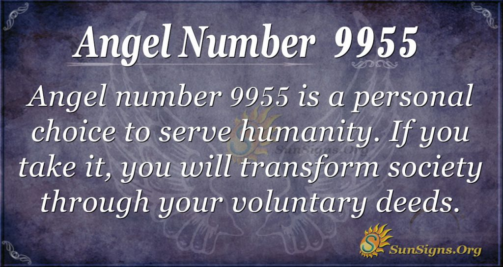 angel number 9955