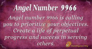 angel number 9966