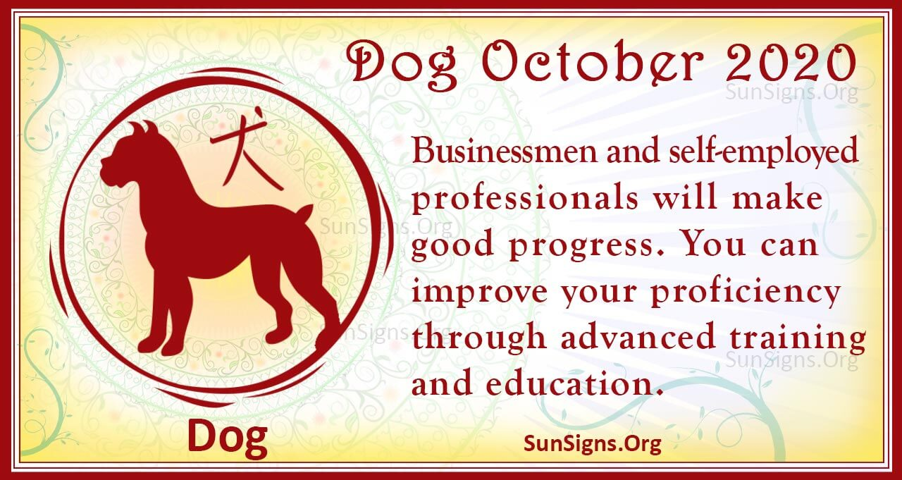 dog october 2020