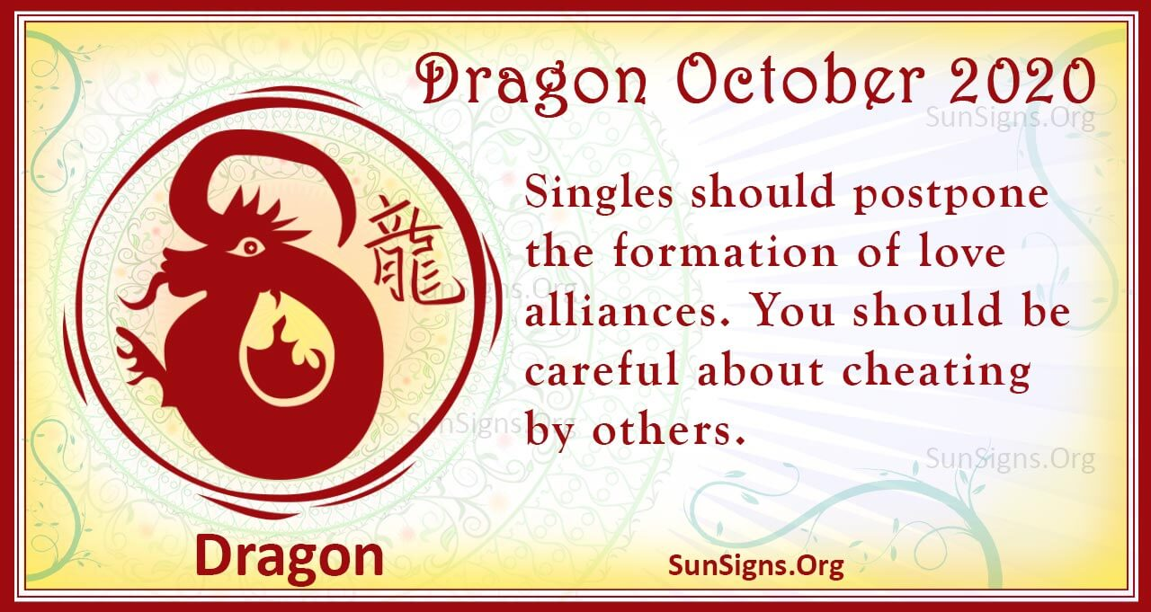 dragon october 2020
